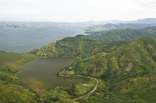 A view of Rutshuru in North-Kivu